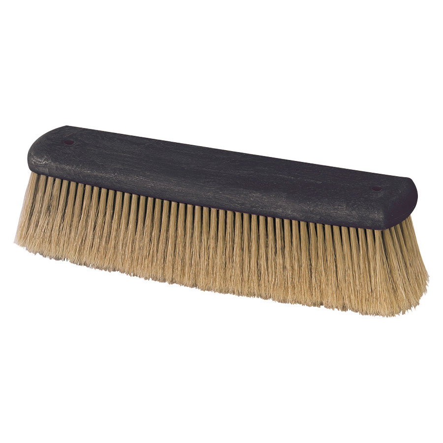 "Carlisle 36104000 12"" Wash Brush - Boar/Plastic"