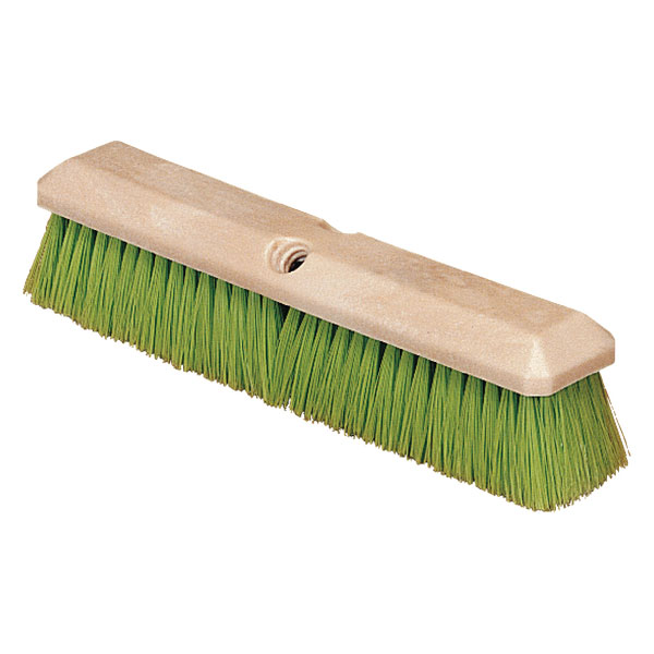 "Carlisle 36121475 14"" Vehicle Wash Brush - Nylex/Plastic, Green"