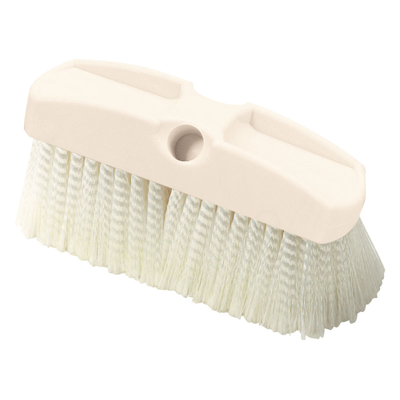 "Carlisle 36122800 8"" Vehicle Wash Brush - Poly/Plastic"
