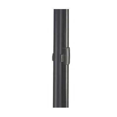 Carlisle 36141203 Duo-Pan Broom Handle Clip - (361415) Black