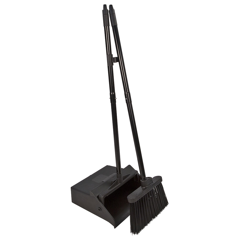 Carlisle 36141503 30 Quot Lobby Dust Pan Combo Broom Handle
