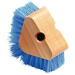 Carlisle 36196614 Triangular Scrubber - Hardwood Block, Carlisle Blue