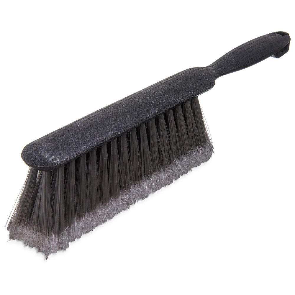 "Carlisle 3621123 13"" Counter/Bench Brush - Poly/Plastic, Gray"