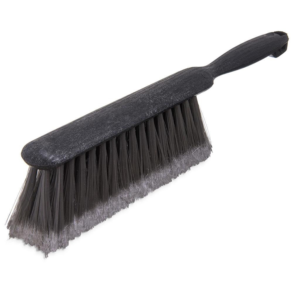 "Carlisle 3621123 13"" Counter/Bench Brush - Poly/Plastic, Gray"