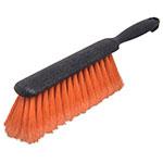 "Carlisle 3621124 13"" Counter/Bench Brush - Flagged, Poly/Plastic, Orange"