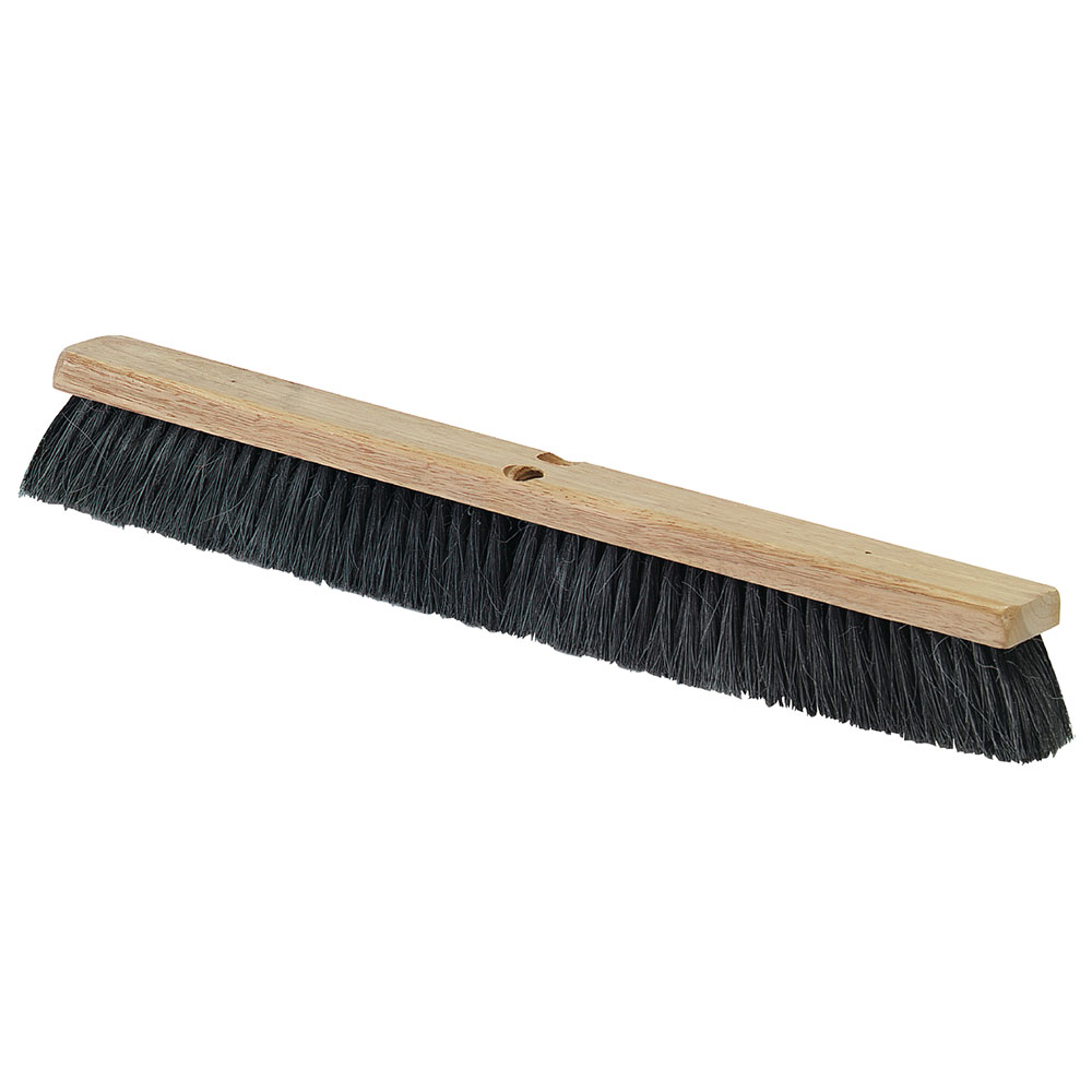 "Carlisle 3621922403 24"" Garage Floor Push Sweep - Tampico"