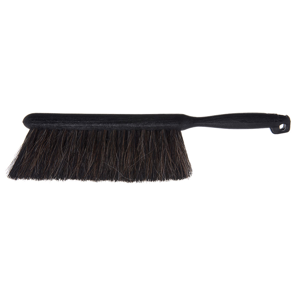 "Carlisle 3622523 8"" Counter/Bench Brush - Horsehair/Plastic, Gray"