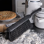 "Carlisle 3625803 8"" Counter/Bench Brush - Poly/Plastic, Black"