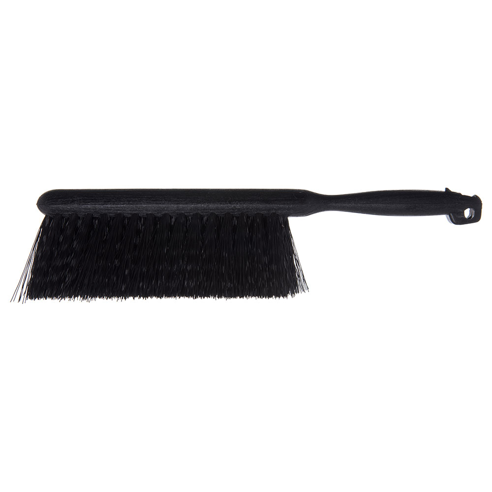 "Carlisle 3625803 8"" Counter/Bench Brush - Poly/Plastic, Black"