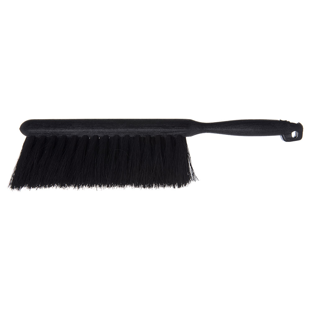 "Carlisle 3625903 8"" Counter/Bench Brush - Tampico/Plastic, Black"