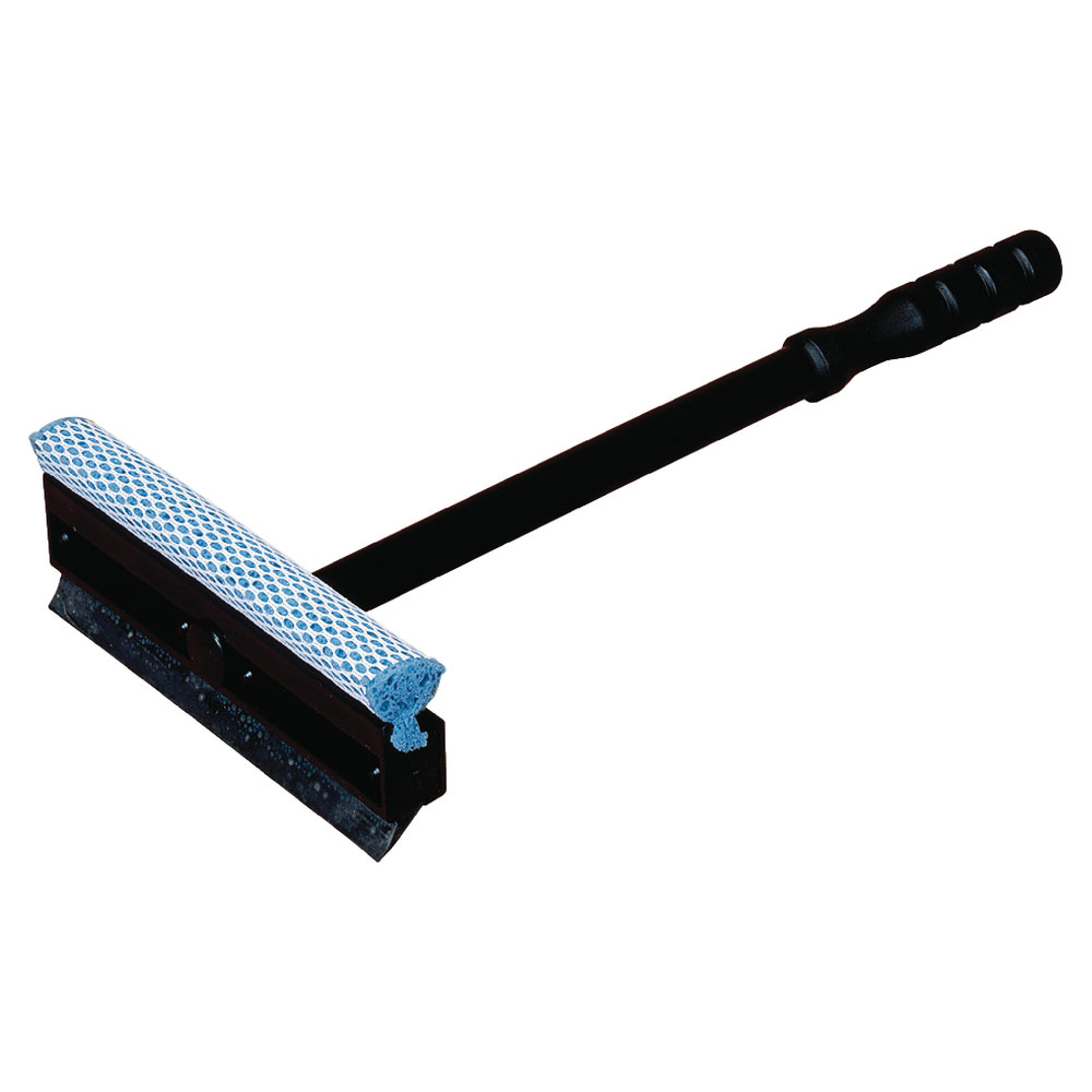"Carlisle 36286800 14-7/8"" Windshield Washer/Squeegee - Neoprene, Black"