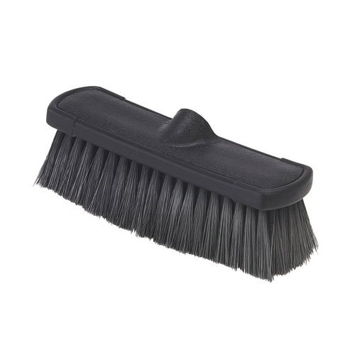 "Carlisle 3636803 10"" Flo-Thru Brush - Black"