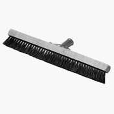 "Carlisle 3639700 18"" Pile Brush - Wood/Nylon, White"