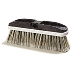 "Carlisle 3646600 10"" Oblong Window Brush - Poly"