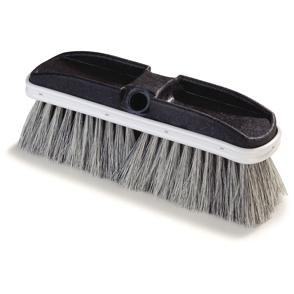 "Carlisle 3646700 10"" Oblong Window Brush - Tampico"
