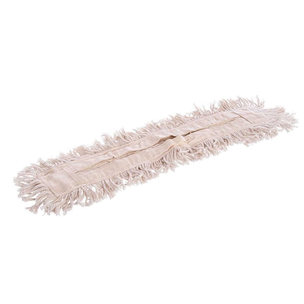"Carlisle 364732400 24"" Flo-Pac® Dust Mop Head Only w/ Cut Ends, Tan"
