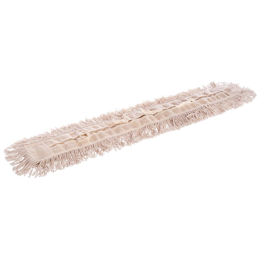 "Carlisle 364733600 36"" Flo-Pac® Dust Mop Head Only w/ Cut Ends, Tan"