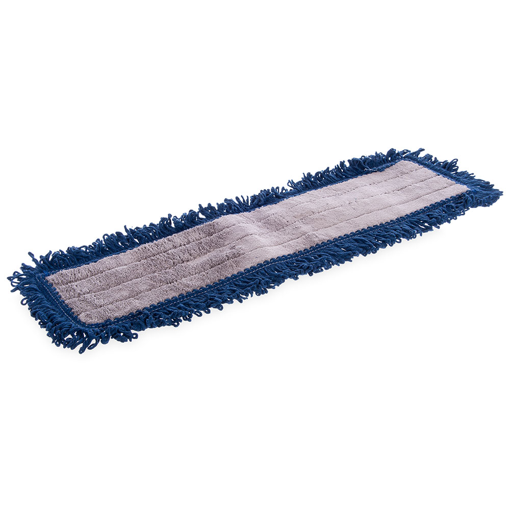 "Carlisle 364882414 24"" Oblong Hospital Grade Dust Mop - Looped End"