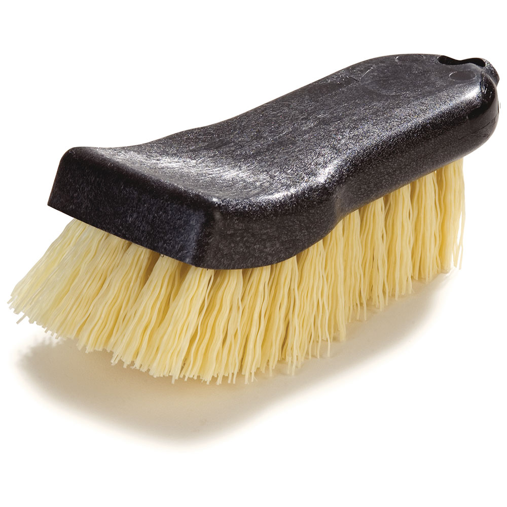 "Carlisle 36501500 6"" Utility Scrub Brush - Poly/Plastic"