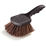 "Carlisle 3650501 8-1/2"" Utility Scrub Brush - Poly/Plastic, Brown"