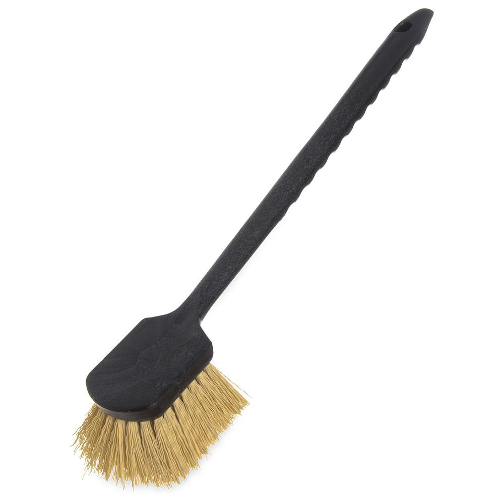 "Carlisle 36505L00 20"" Utility Scrub Brush - Plastic/Polypropylene"