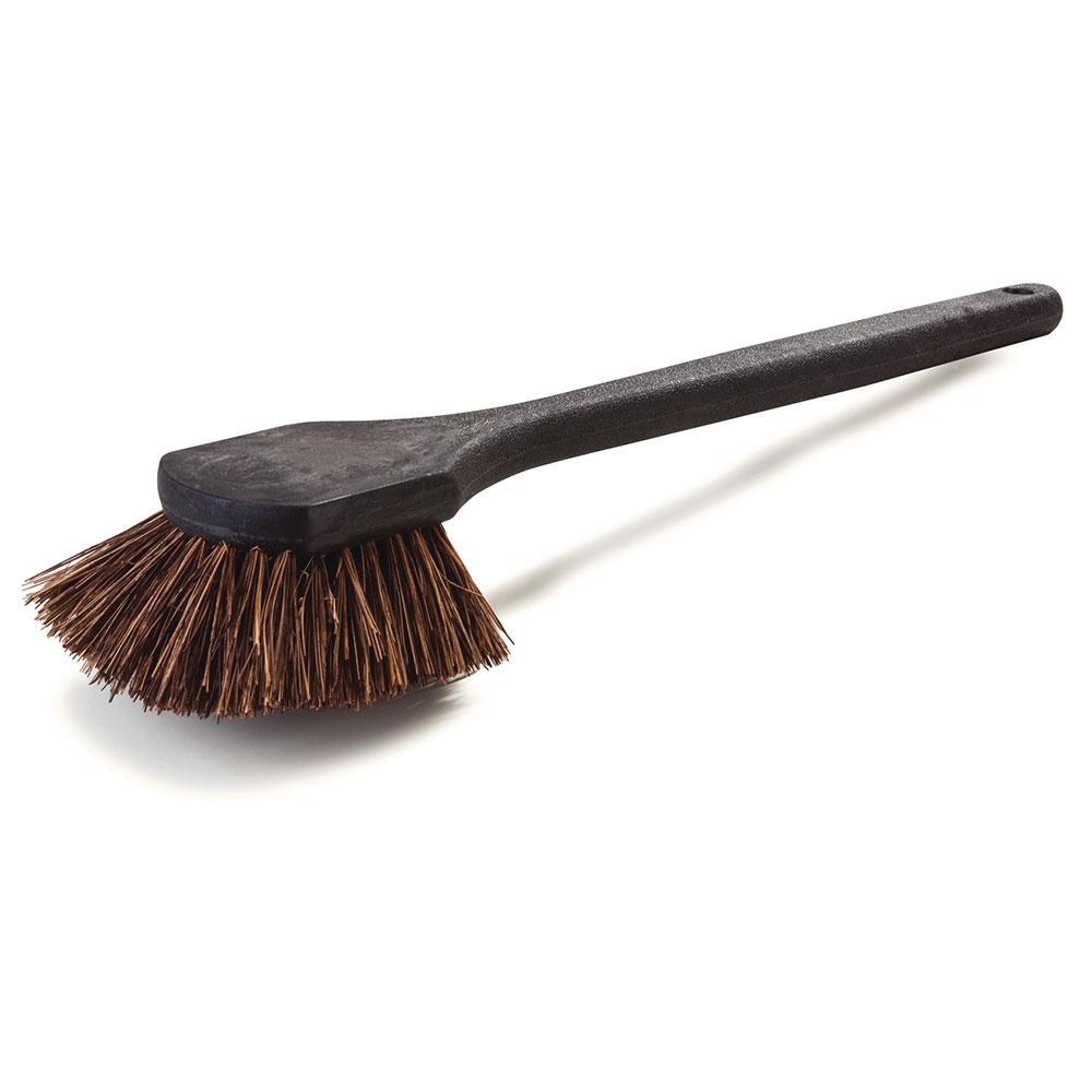 "Carlisle 36513L00 20"" Utility Scrub Brush - Palmyra/Plastic"