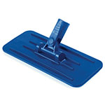 "Carlisle 36538014 9-1/4"" Pad Holder - Plastic, Blue"