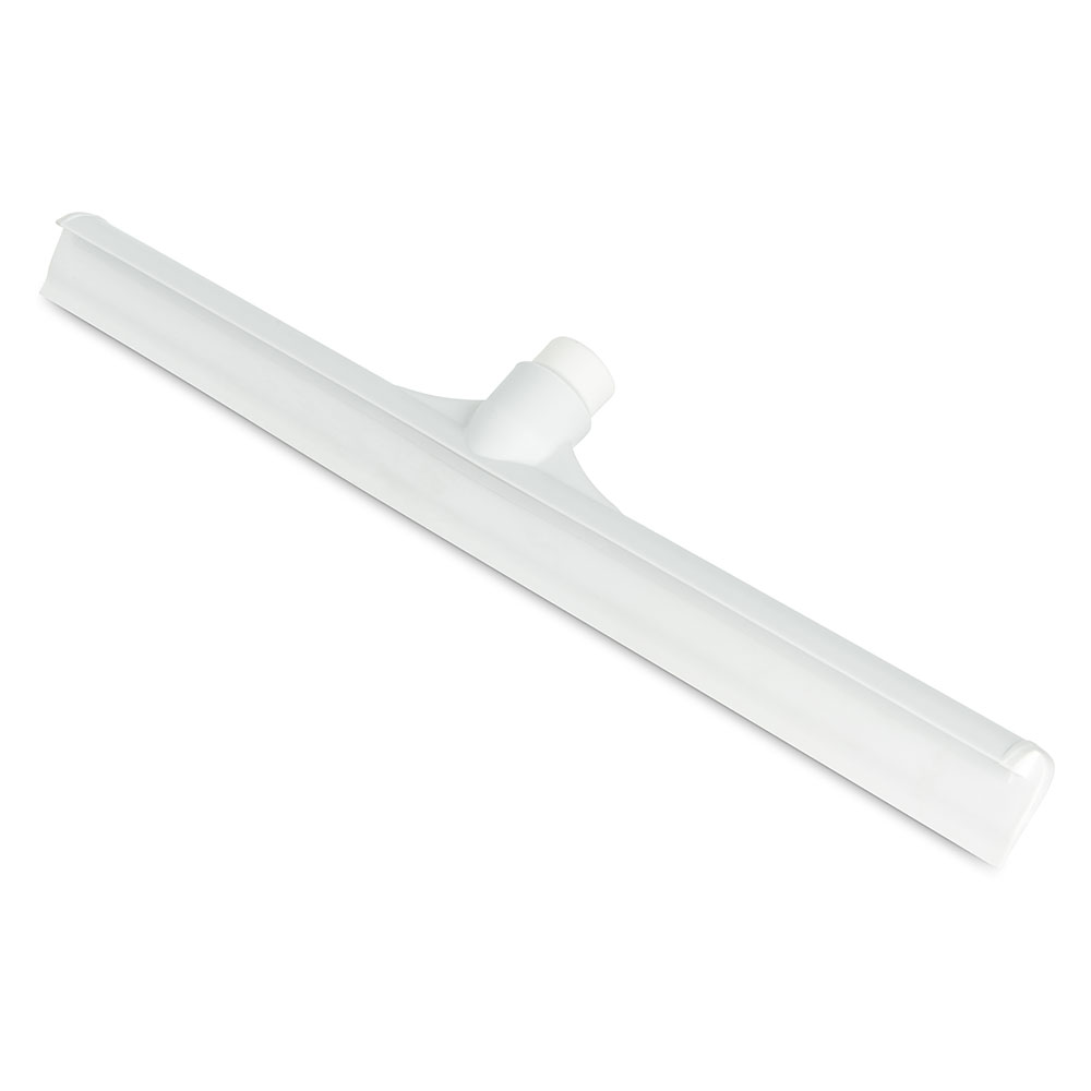 "Carlisle 3656702 20"" Floor Squeegee Head - Straight, Foam Rubber Blade, White"