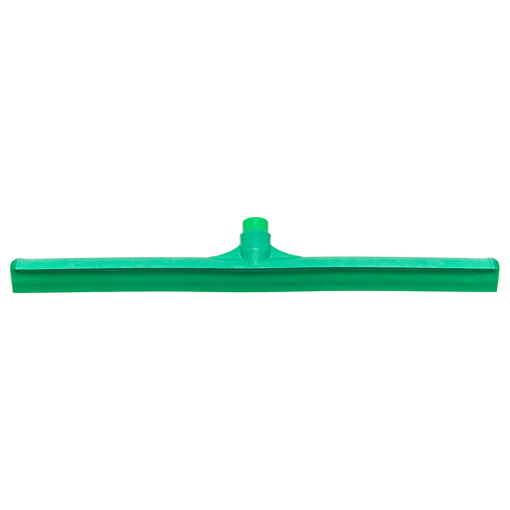 "Carlisle 3656809 24"" Floor Squeegee Head - Straight, Foam Rubber Blade, Green"
