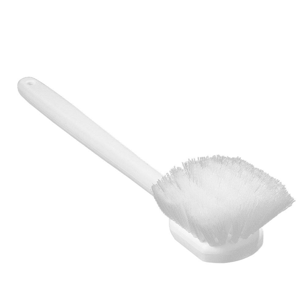 "Carlisle 36620L00 20"" Utility Scrub Brush - Nylon/Plastic, White"