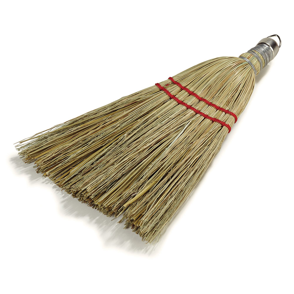 "Carlisle 3663300 10"" Corn Whisk Broom - Corn Color"