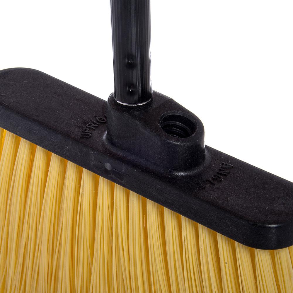 "Carlisle 3686700 12"" Angle Broom Head - Flagged Bristles, Polypropylene"