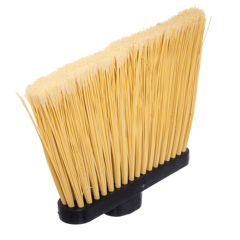 "Carlisle 3686700 12"" Angle Broom Head - Flagged Bristles, Polypropylene"