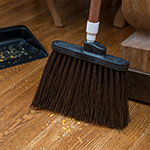 "Carlisle 3686801 12"" Angle Broom Head - Medium-Duty, Polypropylene, Brown"