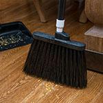 "Carlisle 3686803 12"" Angle Broom Head - Heavy-Duty, Polypropylene, Black"