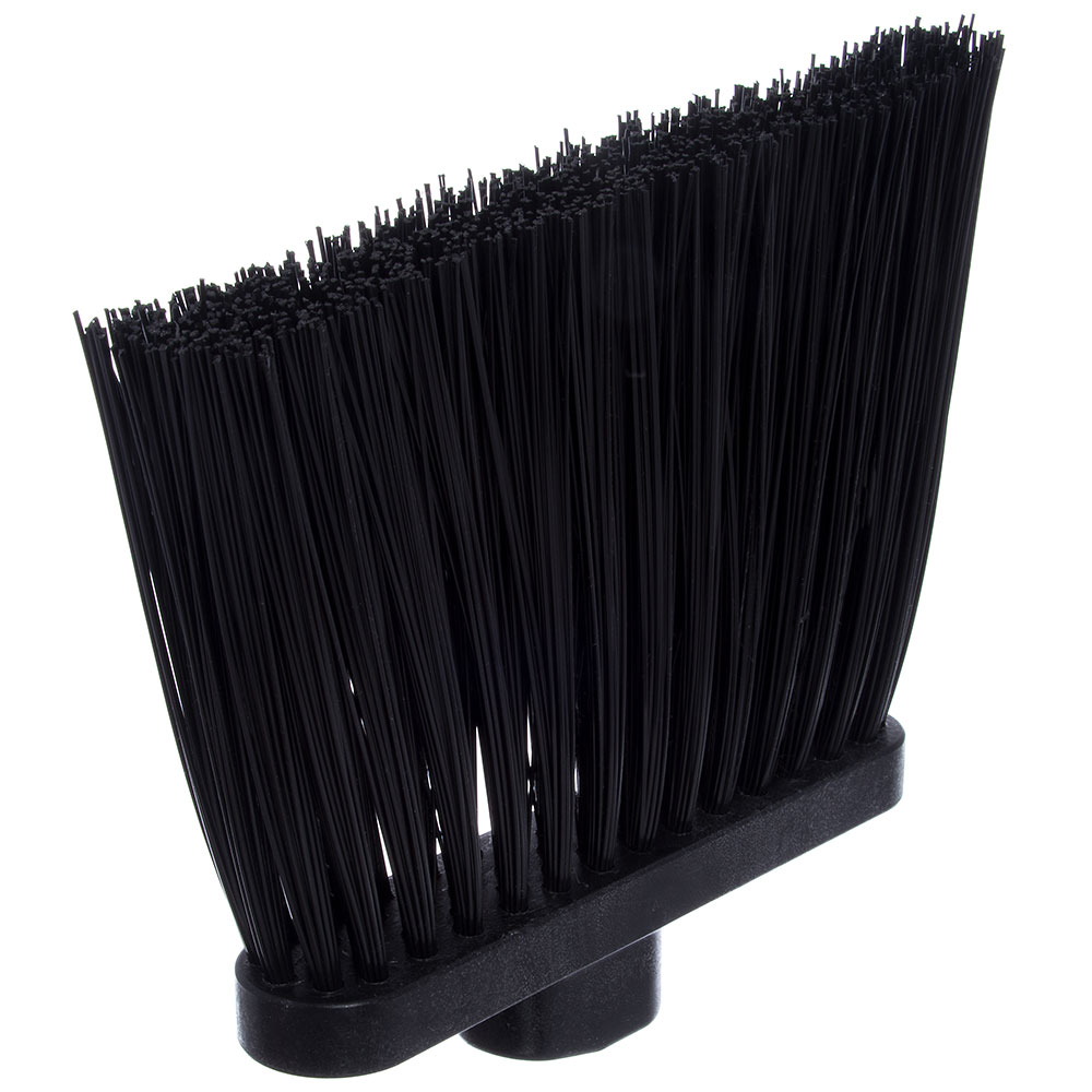 "Carlisle 3686803 12"" Angle Broom Head - Heavy-Duty, Polypropylene, Black"