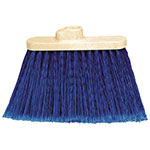 Carlisle 3687314 Warehouse Broom Head - 2-Handle Holes, Blue