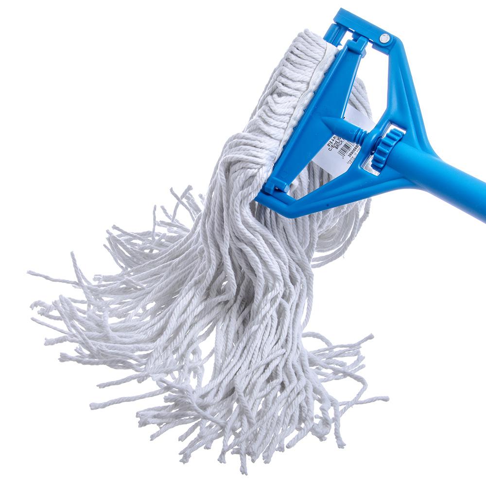 Carlisle 369066B00 Wet Mop Head - #16, 4-Ply, Cut-End, Rayon Yarn