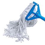 Carlisle 369070B00 Wet Mop Head - #20, 4-Ply, Cut-End, Rayon Yarn