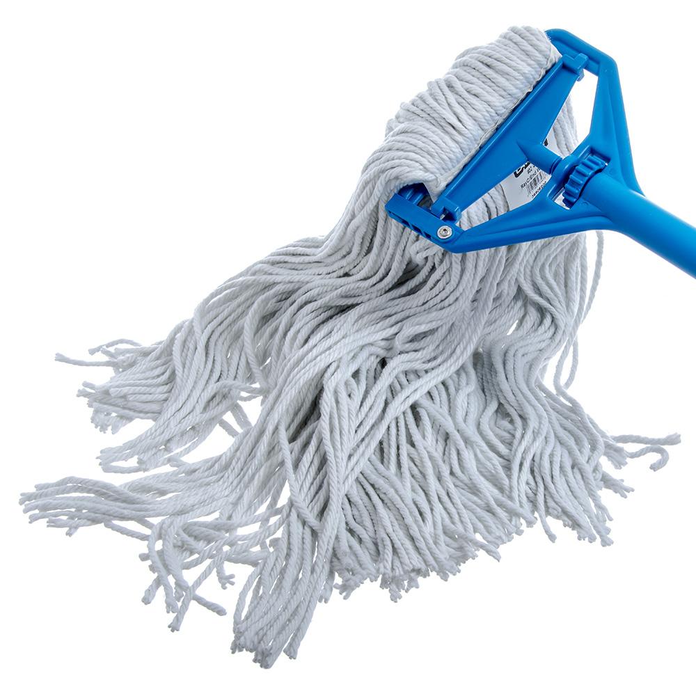 Carlisle 36908200 Wet Mop Head - #32, 4-Ply, Cut End, Rayon Yarn