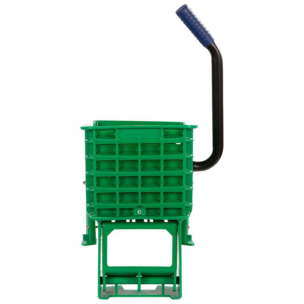 Carlisle 36908W09 Side-Press Mop Wringer - Fits 26/35-qt, Polyethylene, Green