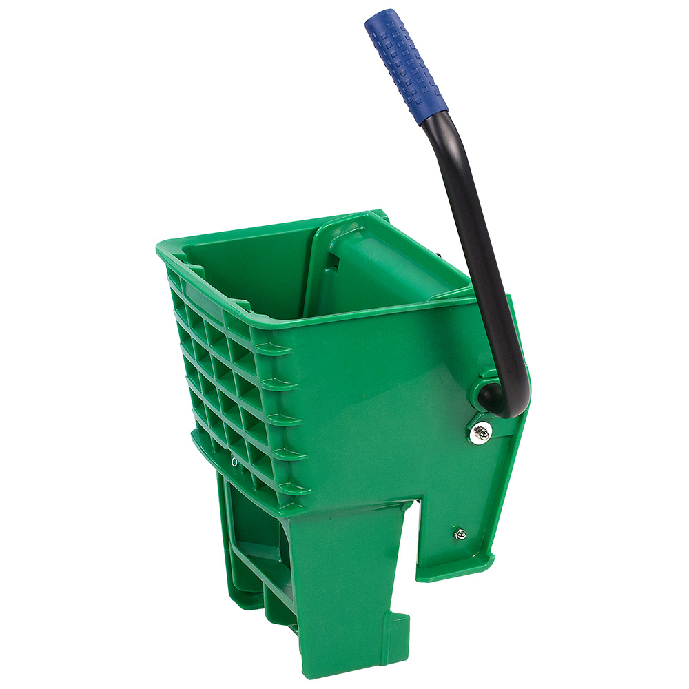 Carlisle 36908W09 Side-Press Mop Wringer - Fits 26/35-qt, Polyethylene, Green