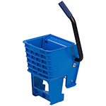 Carlisle 36908W14 Side-Press Mop Wringer - Fits 26/35-qt, Polyethylene, Blue