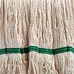 Carlisle 36952002 Bamboo Silk Mop Head - White Bamboo Silk Yarn