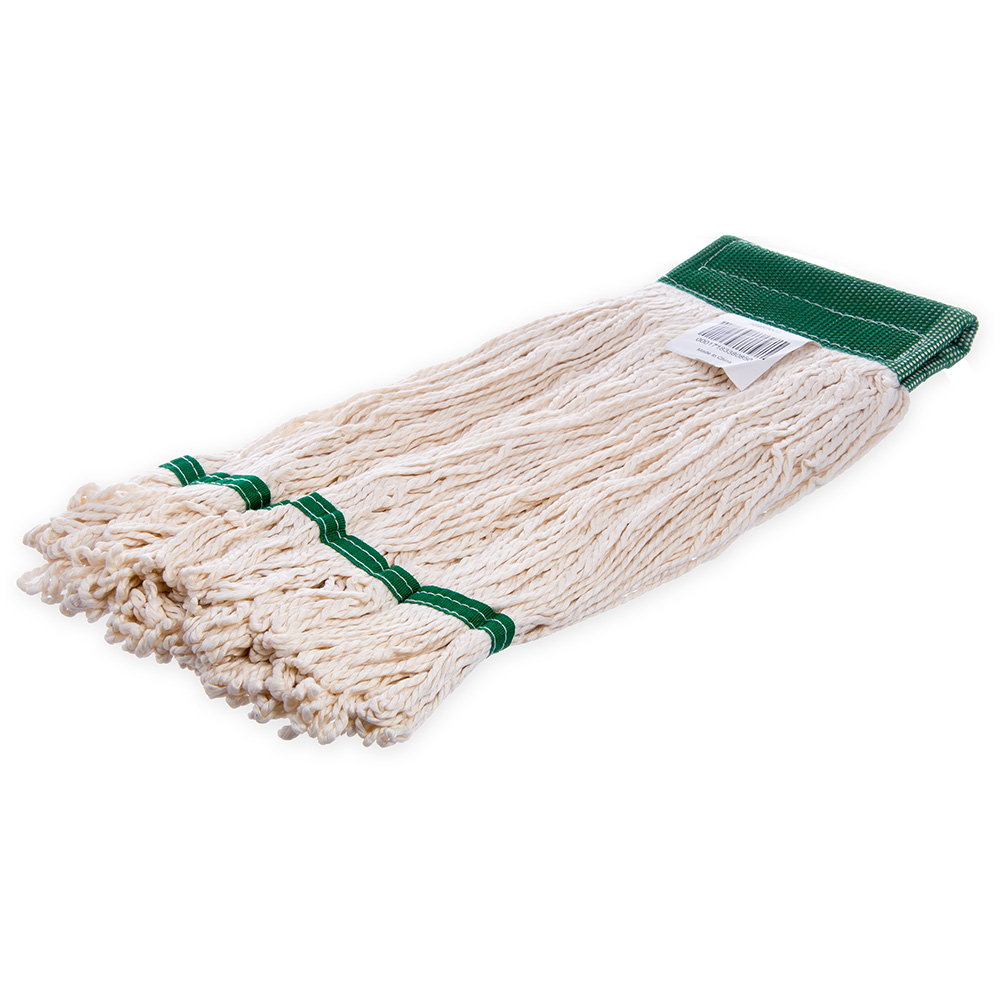 Carlisle 369520-02 Bamboo Silk Mop Head - White Bamboo Silk Yarn