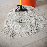 Carlisle 36983200 Wet Mop Head - #32, 4-Ply, Cut-End, Natural Cotton Yarn