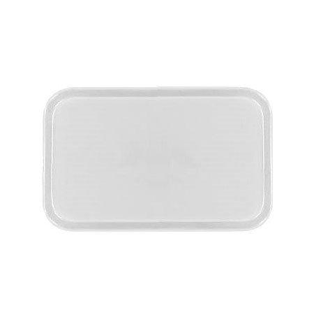 Carlisle 3753FG001 Rectangular Cafeteria Tray - 53x37cm, Bone White