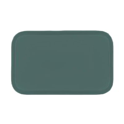 Carlisle 3753FG010 Rectangular Cafeteria Tray - 53x37cm, Forest Green