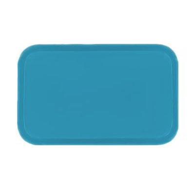Carlisle 3753FG011 Rectangular Cafeteria Tray - 53x37cm, Turquoise