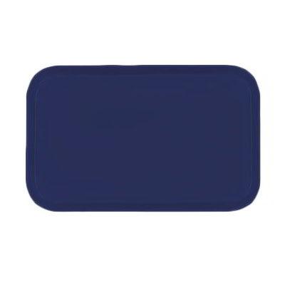 Carlisle 3753FG014 Rectangular Cafeteria Tray - 53x37cm, Cobalt Blue